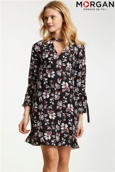 Morgan Floral Print Shift Dress