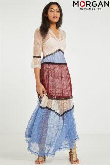 Morgan Long Lace Dress