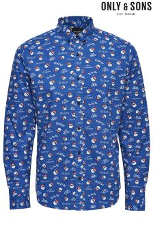 Only & Sons Christmas Shirt
