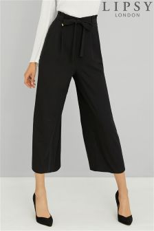Lipsy Tailored Tie Waist Culottes