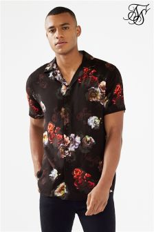 SikSilk Floral Print Shirt