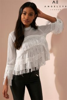 Angeleye Tassel Top