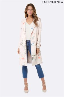 Forever New Printed Trench