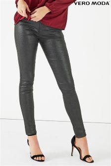 Vero Moda Glitter Slim Fit Trousers