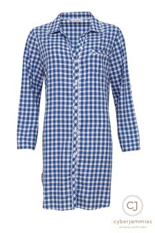 Cyberjammies Check Night Shirt