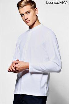 Koszula z długim rękawem Boohoo Man, z piki