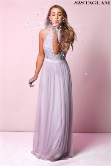 Sistaglam Sequin Maxi Dress