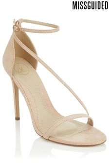 Missguided Asymmetric Strappy Sandals
