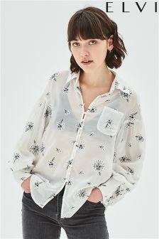 Elvi Dandelion Print Shirt