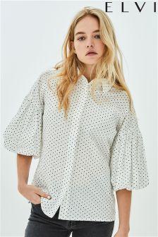 Elvi Puffball Sleeve Shirt