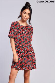 Glamorous Floral Shift Dress