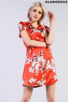 Glamorous Floral Mini Dress