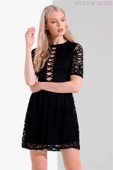 Urban Bliss Cage Skater Dress