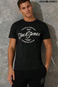 Jack & Jones Crew Neck Logo Tee