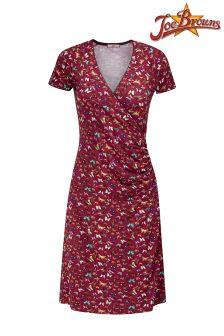 Joe Browns Butterfly Print Wrap Dress