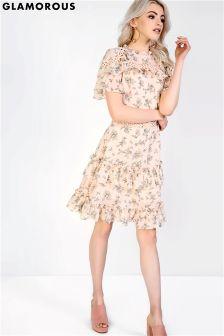 Sukienka w kwiaty Glamorous
