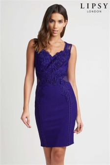 Lipsy Appliqué Bodycon Dress