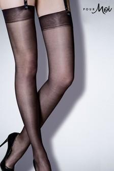 Pour Moi Secret Luxe Sheer Denier Stockings