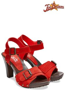Joe Browns Chunky Heel Ankle Strap Sandals