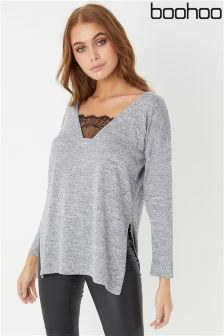 Boohoo Lace Jumper