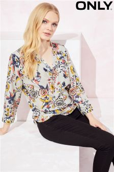 Only Wrap Blouse