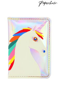 Etui na paszport Paperchase Unicorn Star