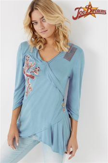 Joe Browns Wrap Over Embroidered Tunic