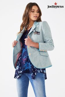 Joe Browns Womens Button Up Tweed Jacket