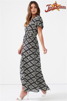 Joe Browns Cap Sleeve Maxi Wrap Dress