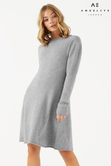 Angeleye Soft Knitted Casual Swing Dress