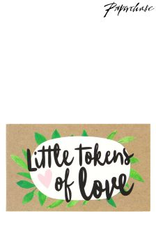 Paperchase Evergreen Wedding Tokens For Couple Greens