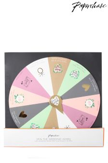 Paperchase Wedding Roulette Game