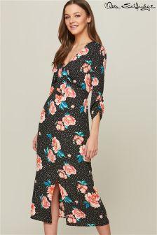 Miss Selfridge Split Front Midi Dress