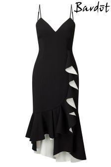 Bardot Kiki Bonded Ruffle Dress