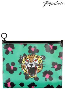 Paperchase Tiger Ziplock Wallet