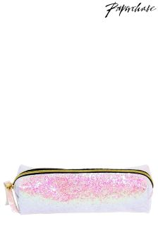 Paperchase Irid Glitter Purse Pencil Case