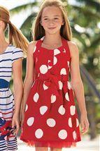 Red Spot Dress