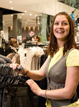 Picture of retail stores staff.