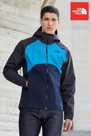 687a17e24c41 The North Face Stratos Jacket Grey Black Size XL