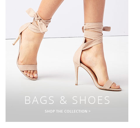 Shop the trendy collection of bags,shoes for women here