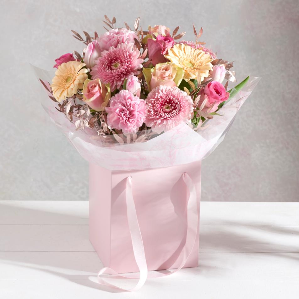 Spring Pink Gift Bag