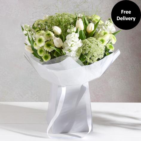 White Cream Flowers White Cream Bouquets Next Flowers Uk