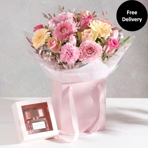 Just Pink Perfume Gift Bag