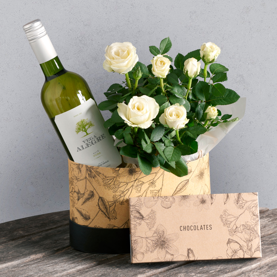 Next flowers and gift cards delivered next day white wine hamper white wine hamper mightylinksfo