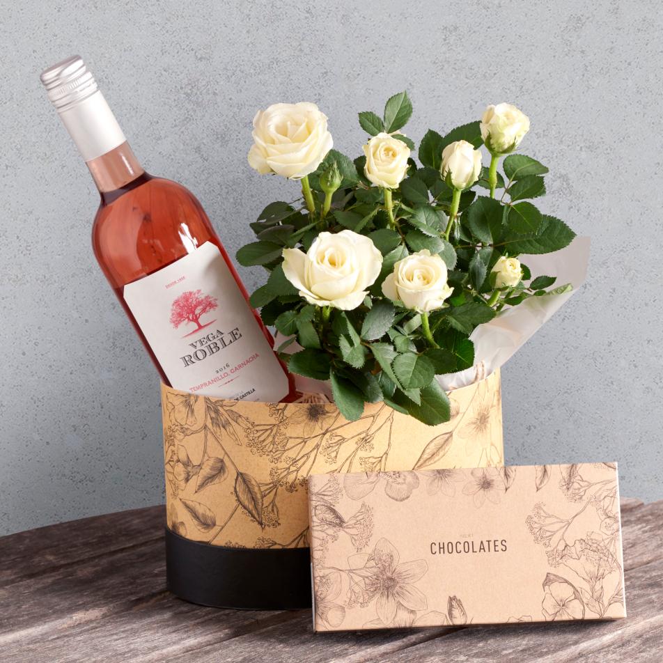 Next flowers and gift cards delivered next day rose wine hamper rose wine hamper izmirmasajfo
