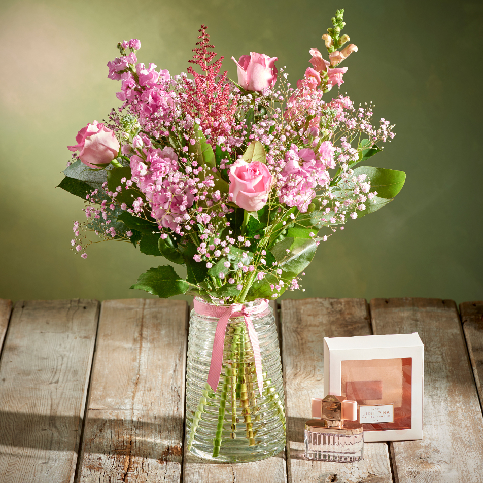 Next flowers and gift cards delivered next day just pink perfume just pink perfume vase izmirmasajfo