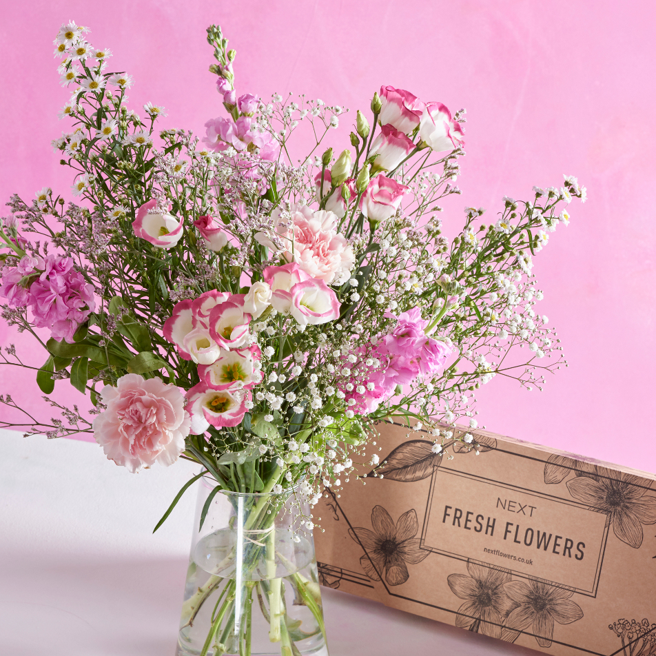 Next Flowers And Gift Cards Delivered Next Day Pretty In Pink