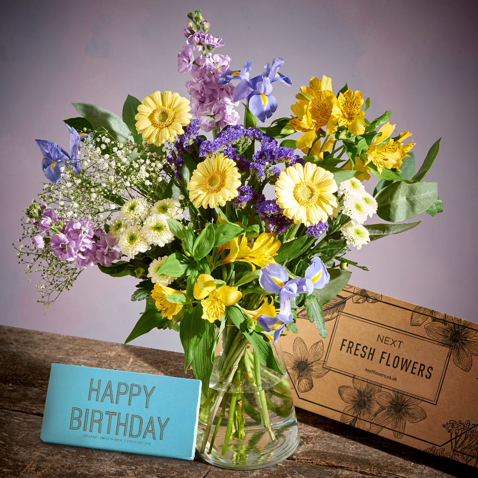 Next Flowers And Gift Cards Delivered Next Day Happy Birthday