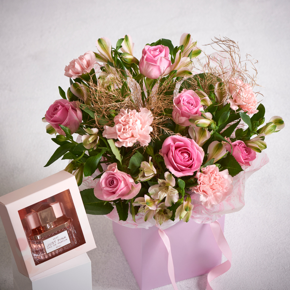 Next Flowers And Gift Cards Delivered Next Day Just Pink Perfume