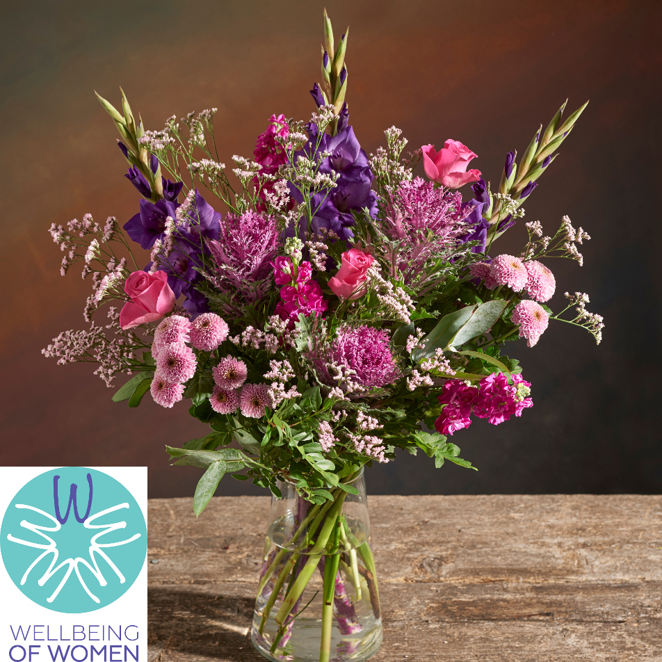 October Bouquet of the Month with Chocs